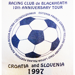 1997 Croatia and Slovenia T shirt design